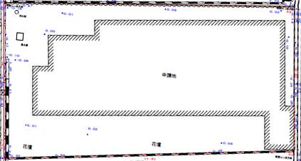 土地測量図